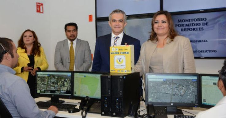 Inauguró Mancera en Coyoacán, Centro de Monitoreo de Alarmas - http://notimundo.com.mx/inauguro-mancera-en-coyoacan-centro-de-monitoreo-de-alarmas/