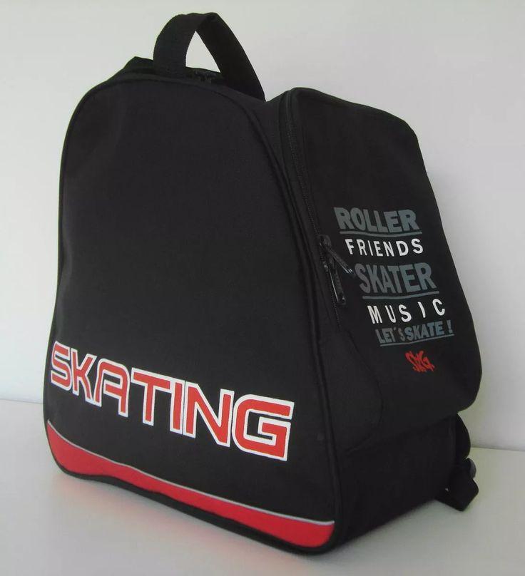 bolso mochila skating para rollers