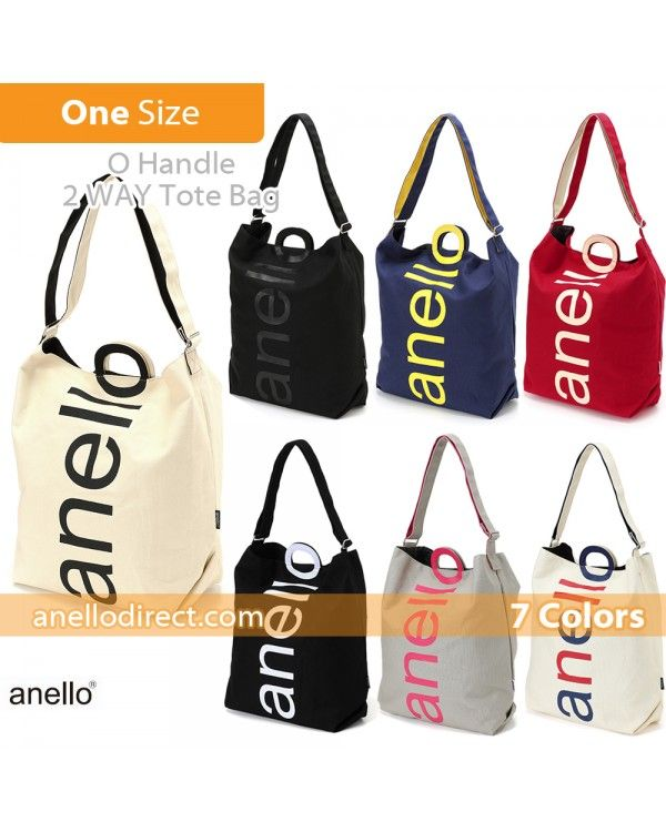 ff2812307dca Anello O Handle 2 Way Tote Bag Handbag AU-S0061 | Anello bag, Bags ...