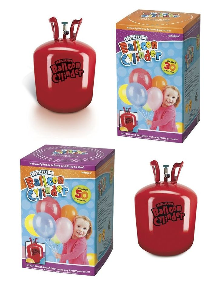 HELIUM Gas Cylinder/Canister - Choice of Size - Fills 30/50 Party Balloons in Home, Furniture & DIY, Celebrations & Occasions, Party Supplies | eBay!