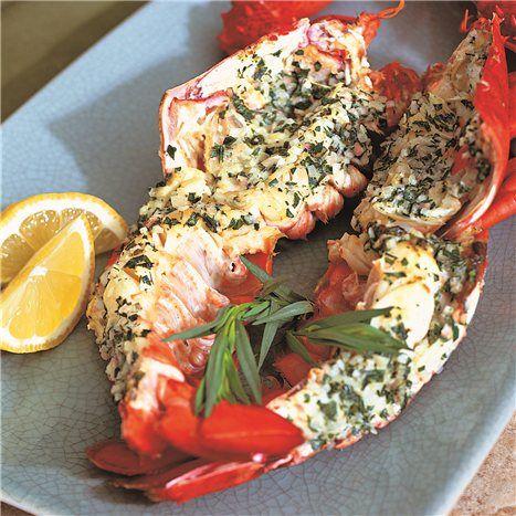 tarragon butter sauce for lobster
