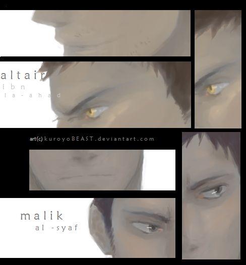 [assassin's creed] altair / malik by kuroyoBEAST