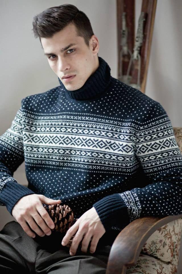 www.woolfetish.com  #men's #turtleneck #sweater