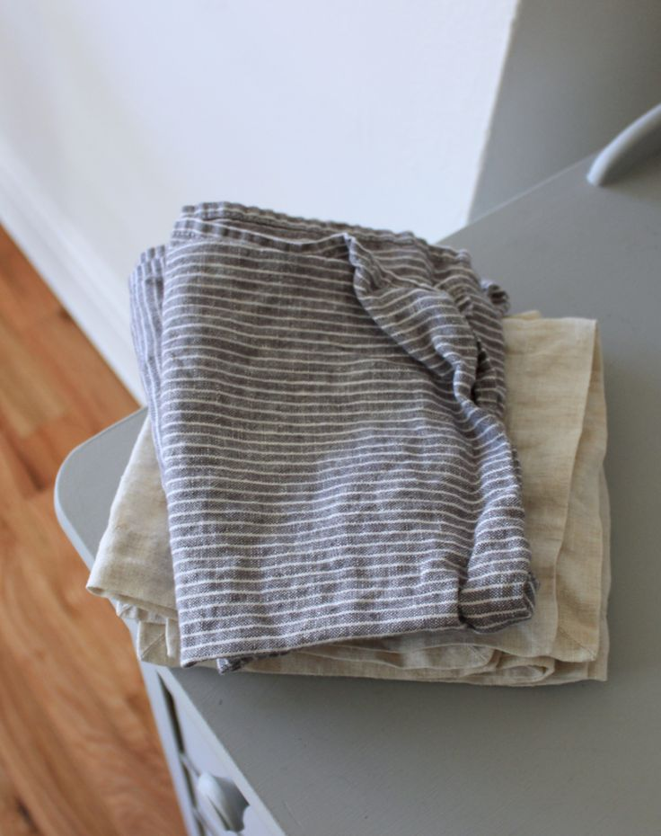 How to switch to cloth napkins for a zero waste, disposable-free kitchen and table | Litterless