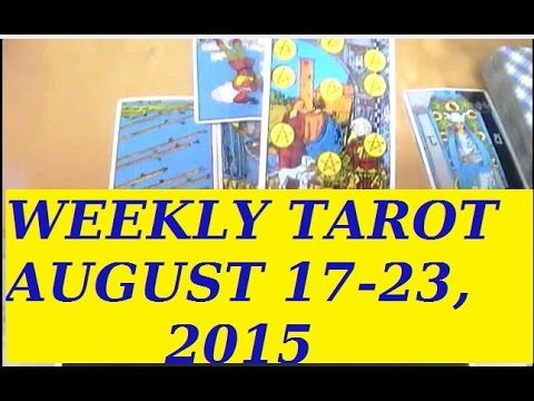Please do #share this video. It might be very helpful to a fellow of your sign. And find out what's upcoming for you next week!! : #Weekly #Horoscope #Tarot #Free #Psychic Reading #August 17, 2015 for all #Zodiac #Astrology for all #Sun Signs