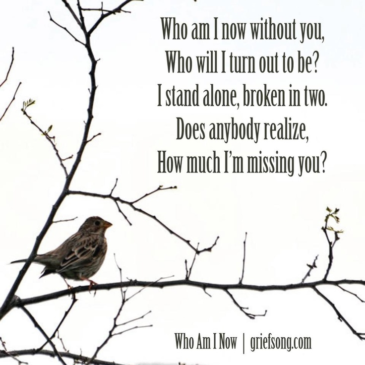Who am I now? This has become my theme song.