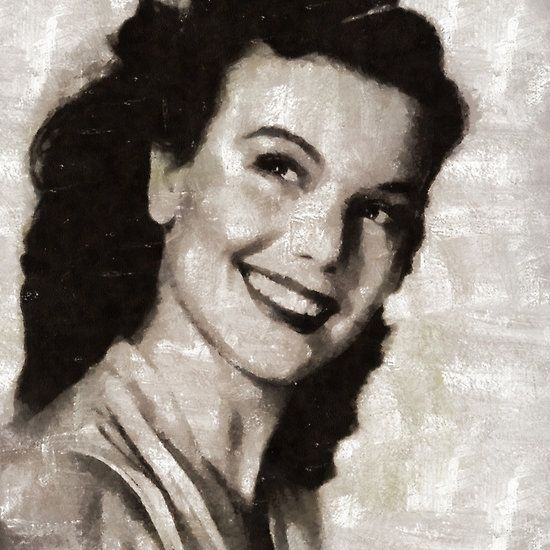 Nanette Fabray, Vintage Actress #hollywood #legend #actor #actress #celebrity #film #movie #art #painting #portrait #music #icon