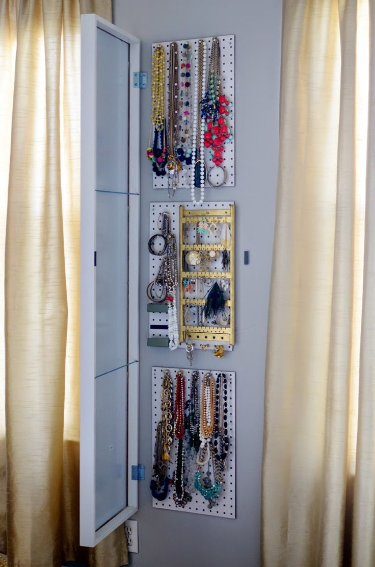 Best 25 Mirror Jewelry Storage Ideas On Pinterest Diy