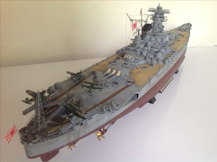 1/350 scale IJN Yamato | ademodelart ( 11th build