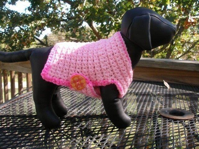 16 best dog sweater images on Pinterest | Free crochet, Knitting ...