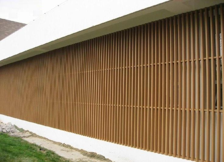 China wpc wall cladding column panel for screened porch - Exterior plastic cladding for houses ...