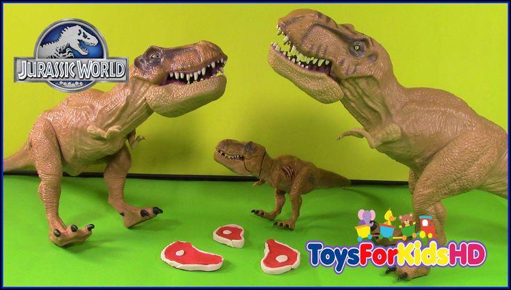 Dinosaurios para niños - Juguetes de Jurassic World Tyrannosaurus Rex