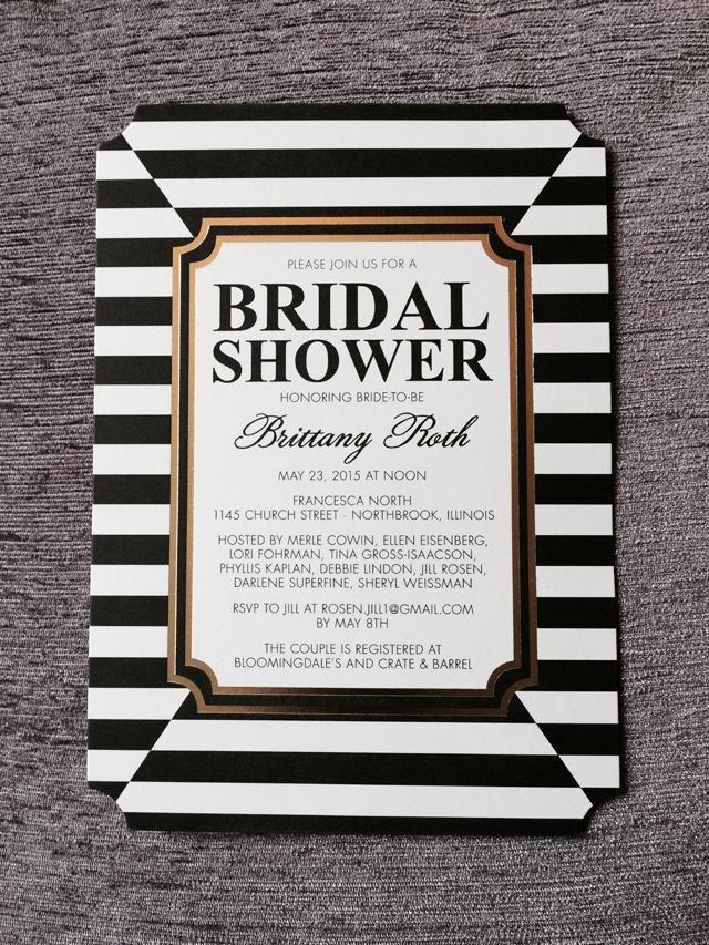 bridal shower invitations registry etiquette%0A Couples Bridal Shower Ideas
