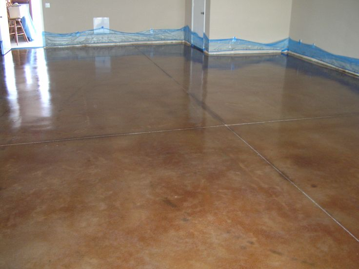 44 best flooring ideas images on pinterest flooring for Painted concrete floor ideas