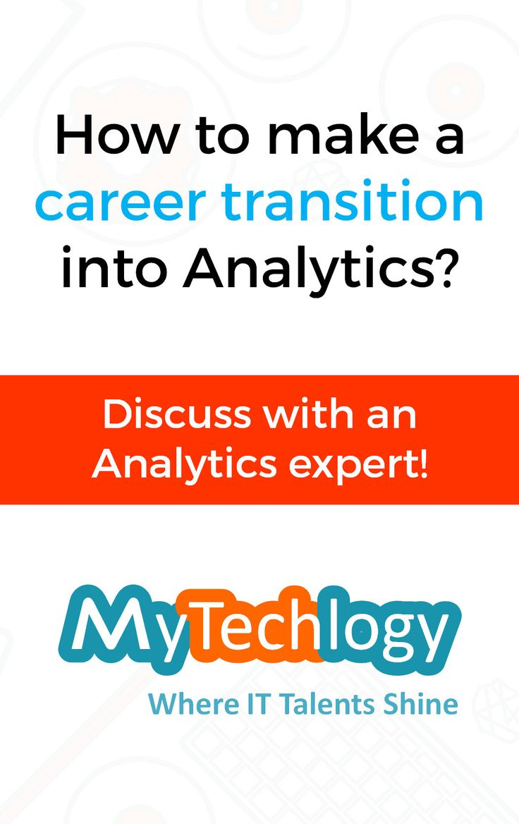 Digital transformation means big data is absolutely everywhere. What we can do with it is all that matters right now. This is why Analytics is in the frontiers of IT. It has become crucial as it aids in improving business, decision makings and providing the biggest edge over the competitors. But how to plan and make a smooth career transition into Analytics at the right time? MyTechLogy brings you an opportunity to consult an Analytics expert, so that you can make your career transition into…
