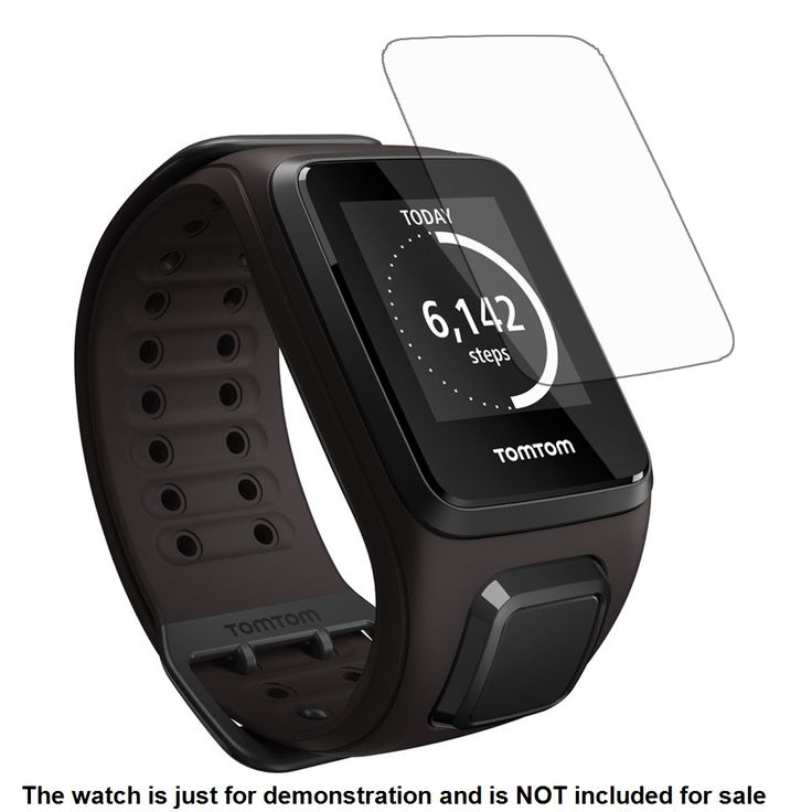 3x Clear LCD Screen Protector Guard Cover Film Skin for TomTom Spark / Runner 3 Cardio Sporting Watch Accessories