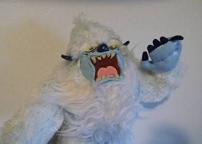 Yeti Monsters Inc Abominable Snowman Sasquatch plush vinyl character toy 12 in