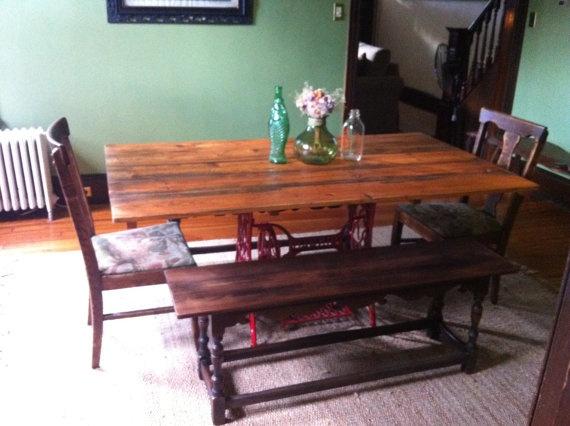 Dining room / Kitchen table. $300.00, via Etsy.