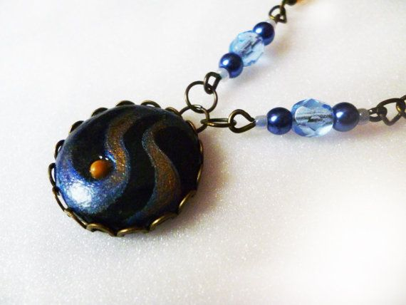 Mustard seed necklace (Faith Art) -with own hand painting