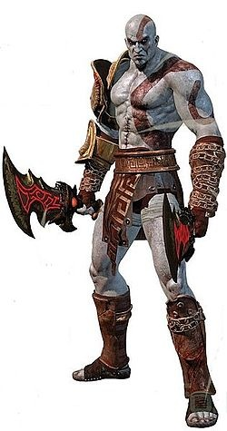 """Kratos is the hero of Sony's popular """"God of War"""" series, so named because Kratos becomes the (Greek) God of War in the first game after killing Ares in an act of revenge for tricking Kratos into murdering his wife and daughter before any of the games took place. His fight with Ares in the first game isn't the only feud Kratos gets into, as his father Zeus tricks him into abandoning his godly powers at the beginning of God of War II. Kratos's life sure is messed up!"""