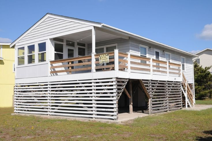 A perfect Outer Banks, NC 3-bedroom House rental in South Nags Head located Oceanside.