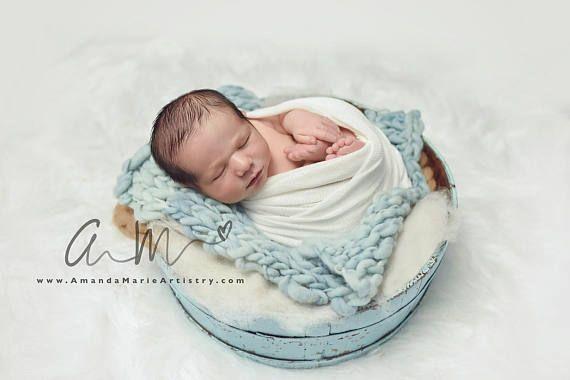 WHITE Stretch Wrap Jersey Wrap Newborn Photo Props Newborn