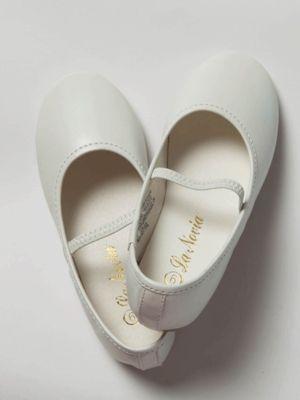 Flower Girl Shoes (11) Kenzie off white