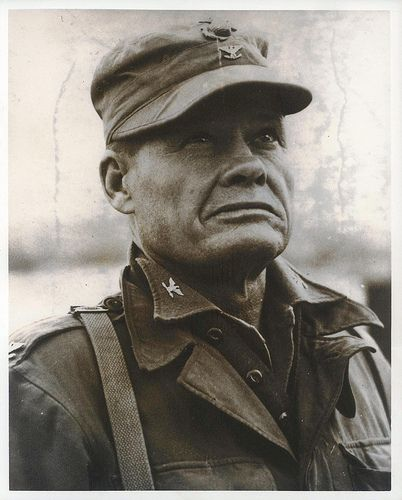 Colonel Lewis B. (Chesty) Puller, c1950  From the Lewis B. Puller Collection (COLL/794) at the Marine Corps Archives and Special Collections   OFFICIAL USMC PHOTOGRAPH
