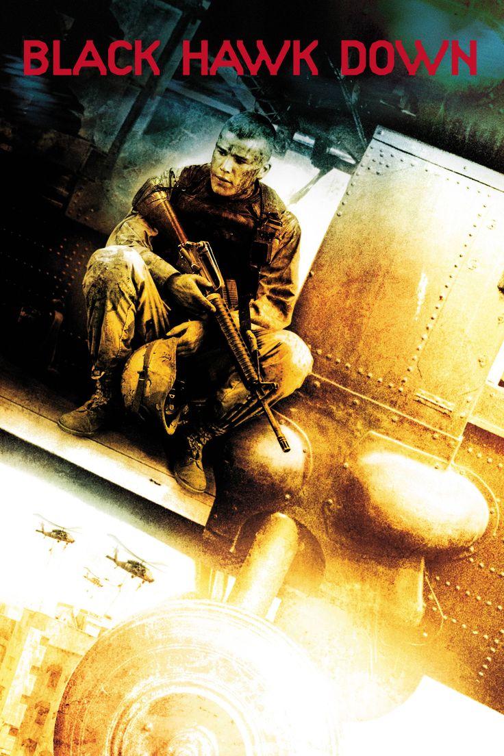 Black Hawk Down Movie Poster - Josh Hartnett, Tom Sizemore, Eric Bana  #BlackHawkDown, #JoshHartnett, #TomSizemore, #EricBana, #RidleyScott, #ActionAdventure, #Art, #Film, #Movie, #Poster