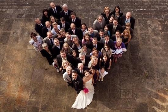 Gorgeous idea for a group photo
