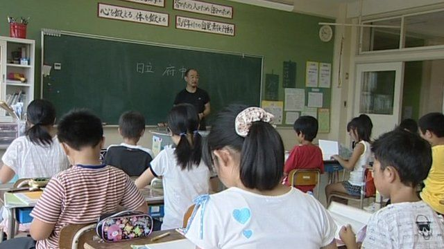 """Up to 90% of school leavers in major Asian cities are suffering from myopia - short-sightedness - a study suggests.    Researchers say the """"extraordinary rise"""" in the problem is being caused by students working very hard in school and missing out on outdoor light."""