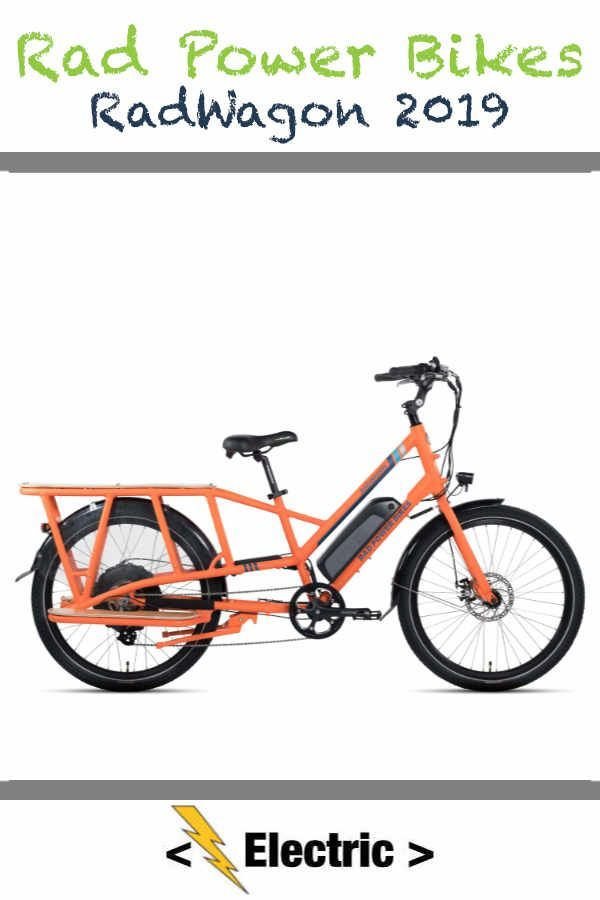 Rad Power Bikes Radwagon Power Bike Electric Cargo Bike Bike