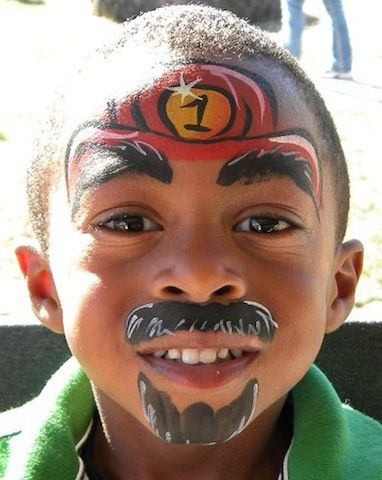 Creative face painting ideas from Red Tricycle