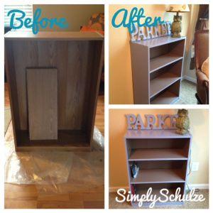 Repainting Laminate Furniture FOR CHEAP! Latex paint tutorial