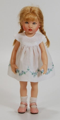 One of my favorite little dolls - Riley, by Helen Kish