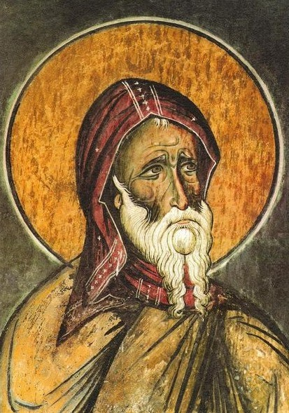 Antony of Egypt, renewer of the church, died around 356  One of the earliest of the Egyptian desert fathers, Antony gave away his sizeable inheritance and became a hermit. Later he became leader of a group of monks who devoted themselves to prayer, worship, and labor.