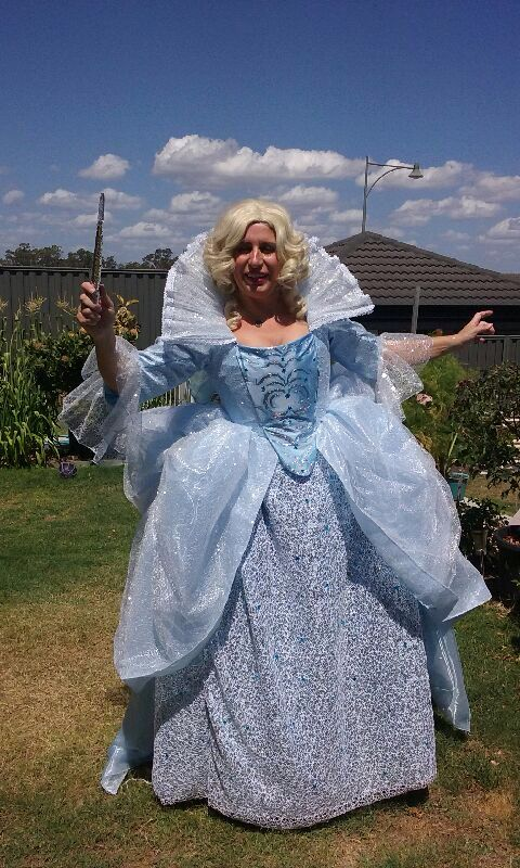 Fairy Godmother inspired by the 2015 live action Cinderella movie made by Kim Byrnes