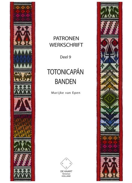Pattern book about Totonicapan bands. Tutorial and many pattern drafts.