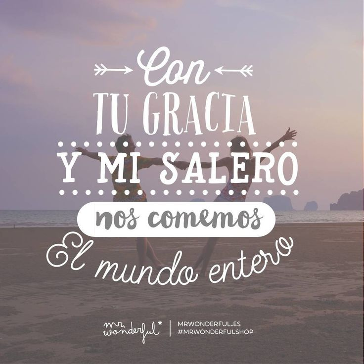 ¡Vamos a por todas! #mrwonderfulshop #quotes #world