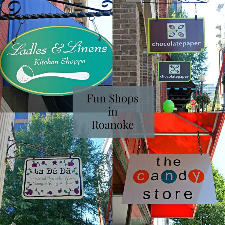 Fun Shops in Roanoke, Virginia