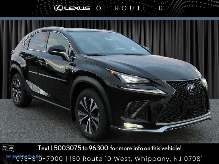 Lexus Electric Suv New New 2020 Lexus Nx 300 F Sport in
