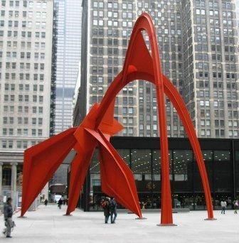 Alexander Calder: Flamingo Chicago