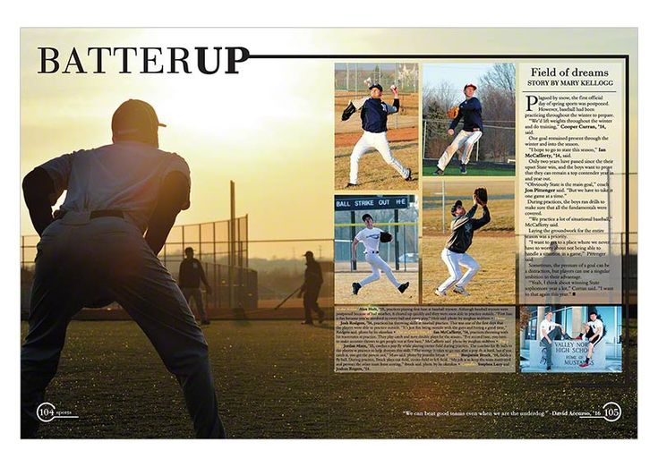 High school sports 2014 - Yearbook Discoveries