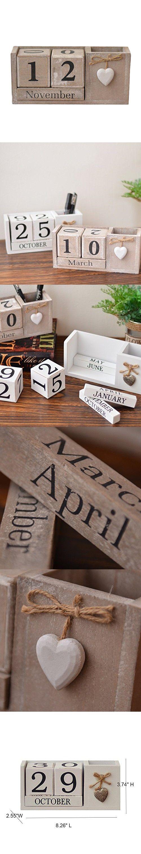 Diy Calendar Singapore : Best wooden cubes ideas on pinterest kids blocks
