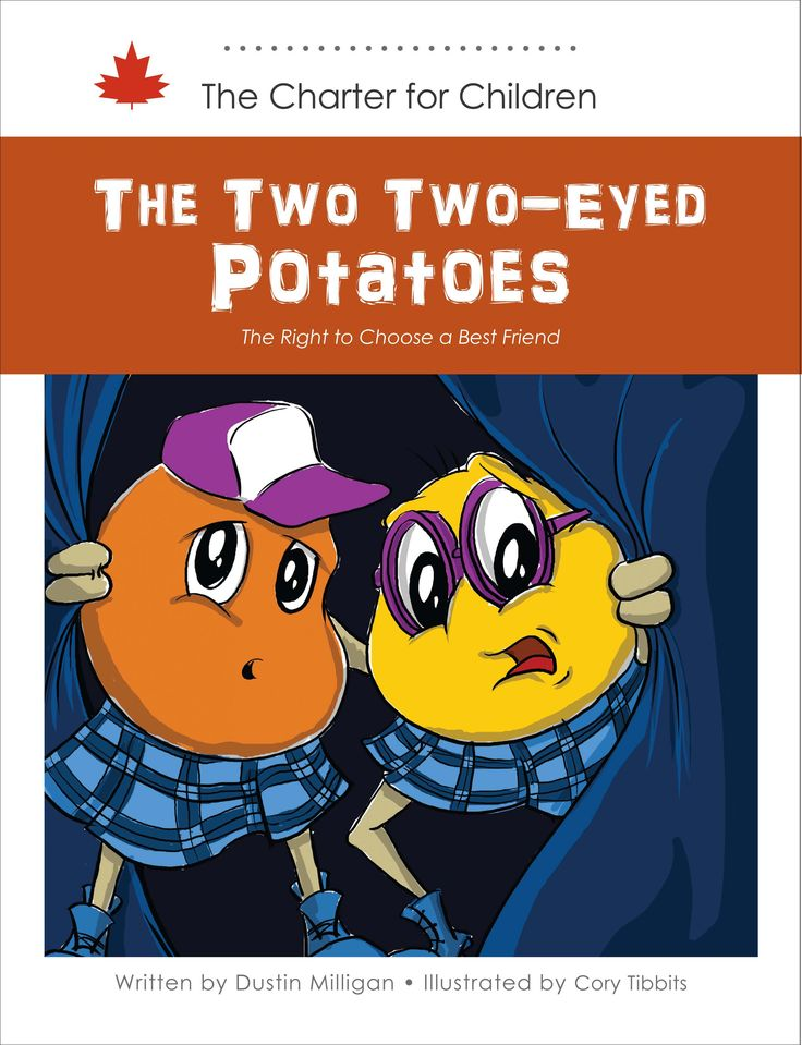 """In a small warehouse, the potatoes are gearing up for the Potato Blossom Festival. The """"Best Friends Rule """" prohibits Taylor and Jordan from being best friends. Will the other potatoes open their hearts and allow the friendship to blossom? This story seeks to teach children about the right to equal treatment and freedom from discrimination on the basis of sexual orientation."""