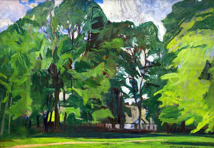 Czajkowski Stanisław CHURCH AMONG TREES, 30'S