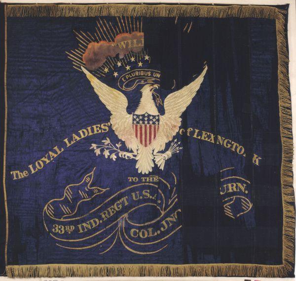 the civil war flags