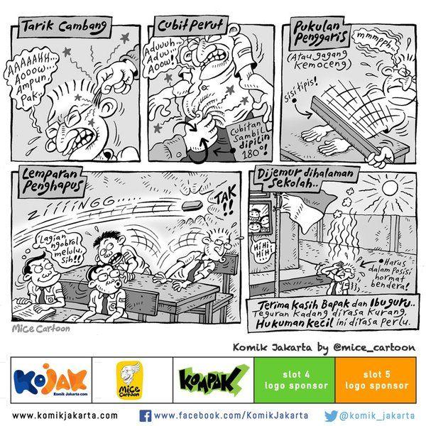 """Terimakasih Bapak dan Ibu Guru dicuplik dari buku komik """"Indonesia Banget"""" @mice_cartoon https://t.co/EDXfzVQR1L"""