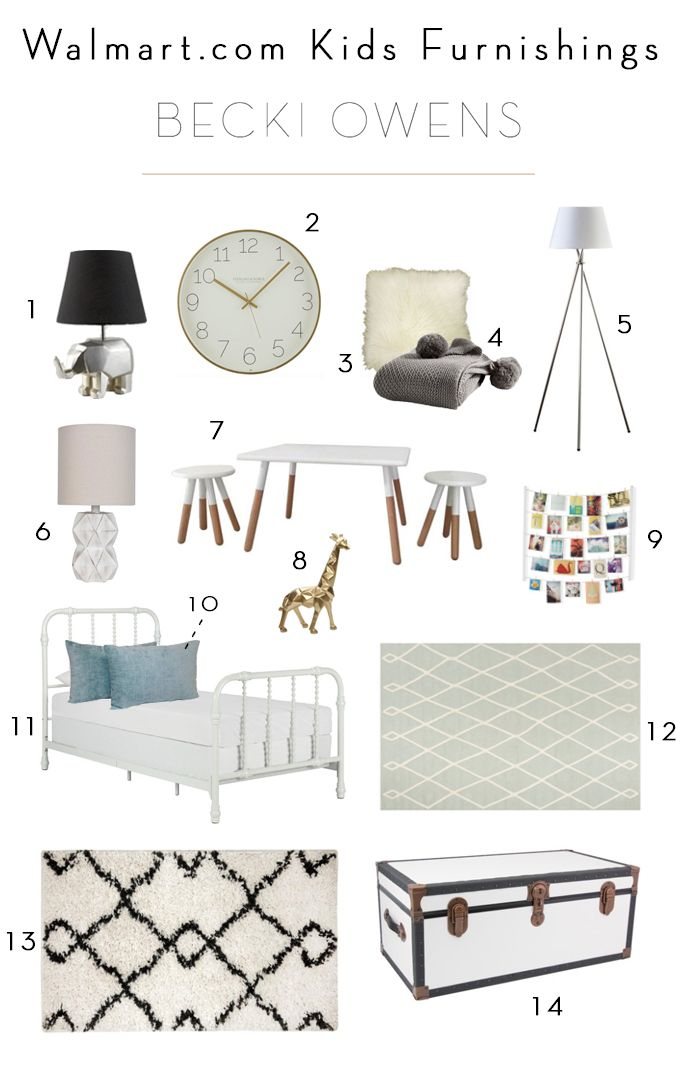 BECKI OWENSu2014AFFORDABLE, STYLISH KIDS FURNITURE AND ACCESSORIES FROM  @Walmart, #StartWithaSpark, #Sponsored