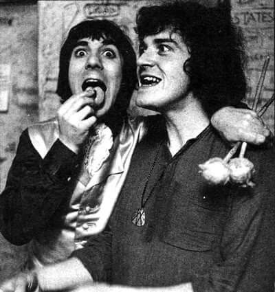 Keith Moon & Joe Cocker in the day!